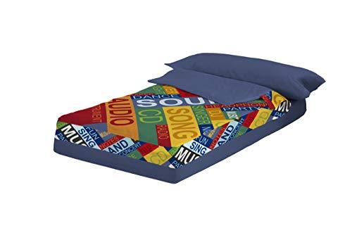 Saco Nórdico Tacto Pétalo SOUND (cama de 90) (para cama de...