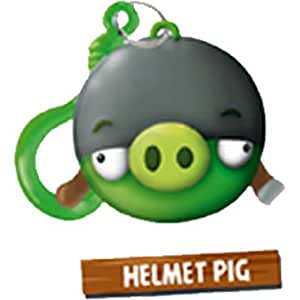 angry birds hangers collection 01 helmet pig keychain. Black Bedroom Furniture Sets. Home Design Ideas