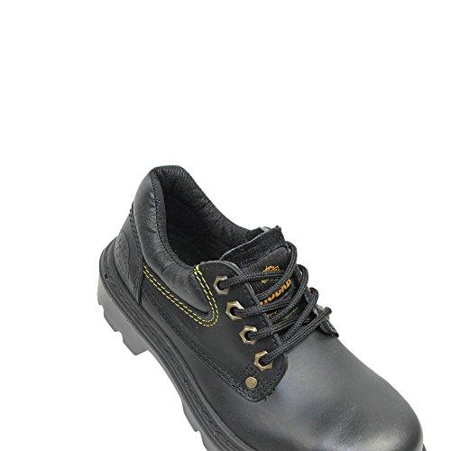 Aimont trucker ireland s3 berufsschuhe businessschuhe chaussures de chaussures de sécurité chaussures de travail noir Schwarz