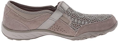 Skechers Breathe-Easy-Our Song, Baskets Basses Femme Beige - Beige (Taupe)