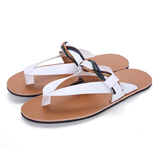 Zxcv Chaussures D'extérieur Chaussures De Plage D'été Sandales Ouvertes Pour Hommes Chaussures Pour Hommes Avec Semelles Antidérapantes En Caoutchouc Blanc