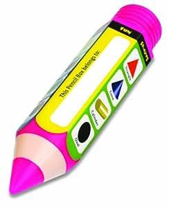 Buddyz Pencil-Shaped Pencil Box - Shapes for Kids
