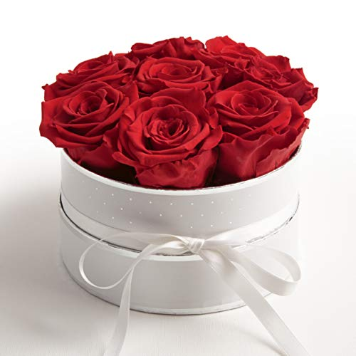 Rosenbox Handverlesene, echte Rose von höchster Qualität
