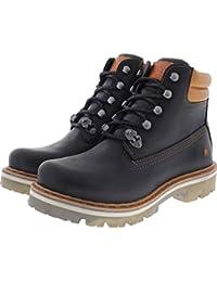 1f286cf31e8b The Art   Modell  1182 Soma Farbe Rustic Black Leder Unisex Stiefeletten  Größe