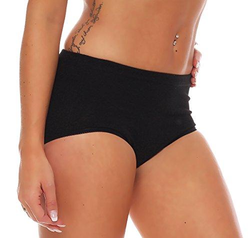 3er Pack Damen Slips ohne Seitennähte (Schlüpfer, Unterhose) Nr. 408 - 2