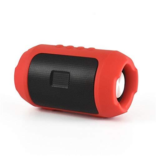 Altoparlante Bluetooth Mini Altoparlante Bluetooth Esterno Altoparlante Bluetooth Scheda di ricezione AudioRivestimento in ferro della maglia Rosso