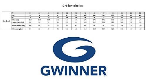 Gwinner Herren Badeshorts Badehose Schwimmhose Schwimmshorts mit Bindeschnur aus hochwertigem Material made in EU Peter Schwarz/Grau/Grün