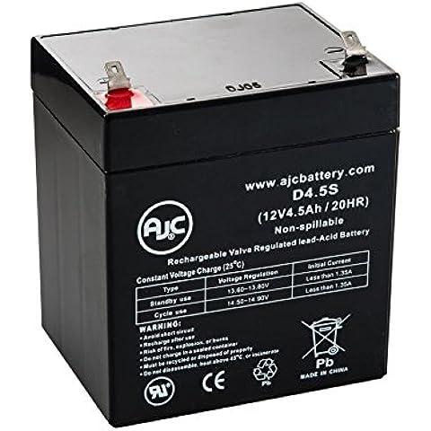 Batteria per Gruppo di continuità APC 2200VA RM 2U LCD 120V 12V 4.5Ah - Ricambio di marca AJC®