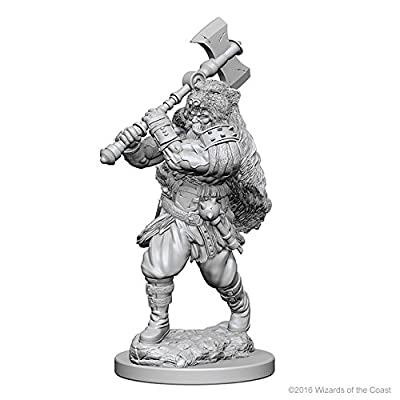 Dungeons & Dragons: Nolzur's Marvelous Unpainted Minis: Human Male Barbarian