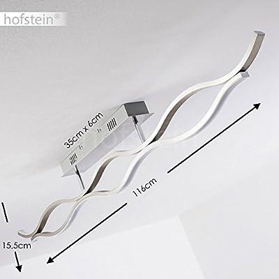 LED Deckenleuchte Ancona Deckenlampe mit Leuchtelement nach oben und nach unten
