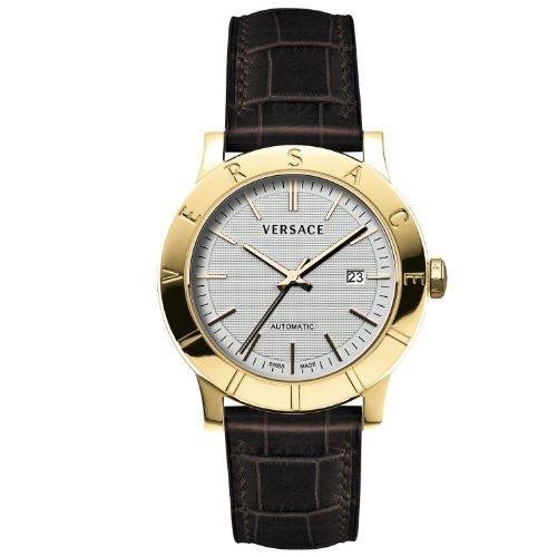 Versace 17A70D002 S497 - Reloj de cuarzo para hombres, color marrón