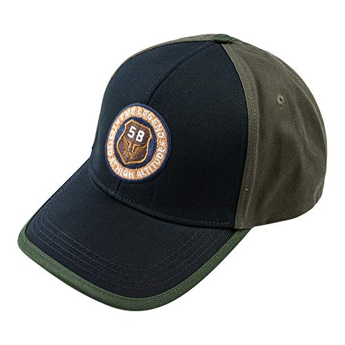 PME Legend Cap Washed Cotton Twill Color Block - Cap, Farbe:Salute Washed Cotton Twill Cap