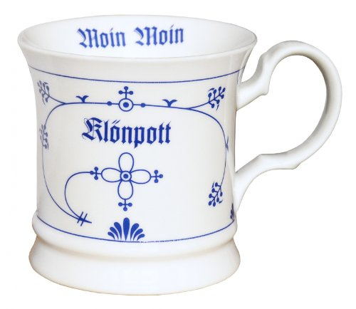 CUP+MUG Klönpott, Indisch Blau