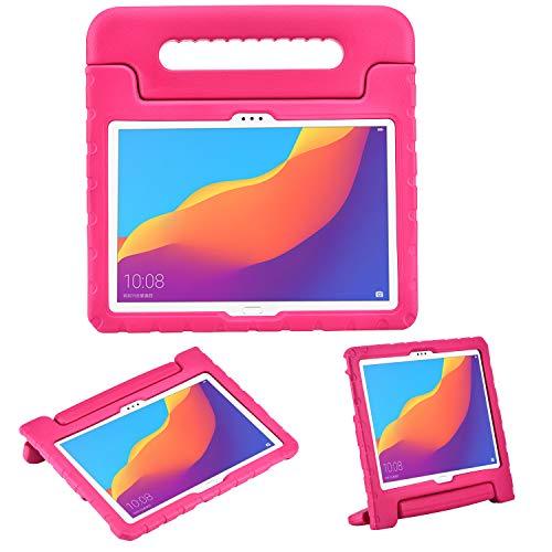 Funda Protectora para Huawei MediaPad T5 10 de 10,1 Pulgadas y Huawei Honor Play Pad 5 de 10,1 Pulgadas, Funda Protectora Ligera de EVA a Prueba de Golpes con Soporte