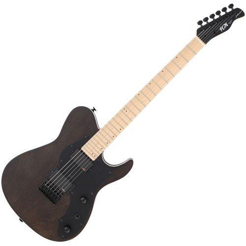 fgn j standard iliad FGN J-Standard Iliad Dark Evolution 664 Black Satin E-Gitarre