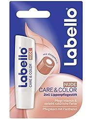 Labello Lippenpflege Care & Color Nude, 4er Pack (4 x 1 Stück)