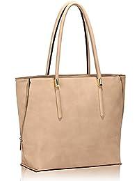 c1e036ee2d LeahWard® Große Größe Käufer Handtaschen nett Groß Taschen Reißverschluss  ...