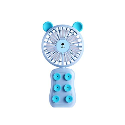 DOGZI Ventilator Ultra Leise - Neuer Mini Portable USB Wiederaufladbar Hand Gehalten Luft Conditioner Summer Cooler Fan