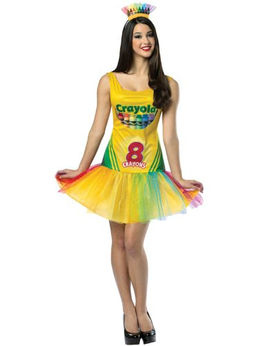 Adult Crayola Tutu Dress (Crayon Box) by Rasta Imposta