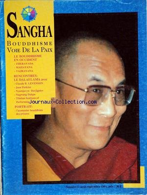 SANGHA MAGAZINE [No 2] du 01/12/1991
