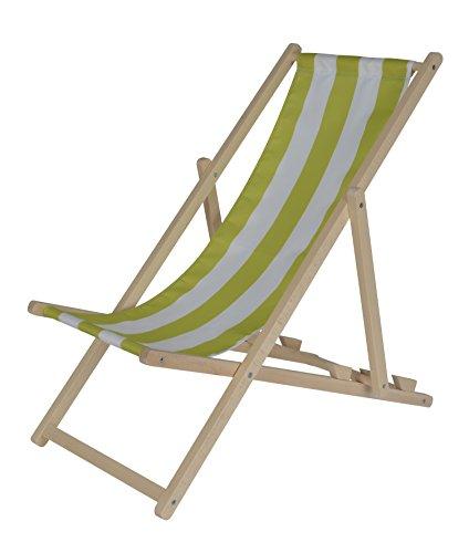 Eichhorn 100004546–Outdoor Niños de sol silla, ajustable, 40kg, Madera de Haya