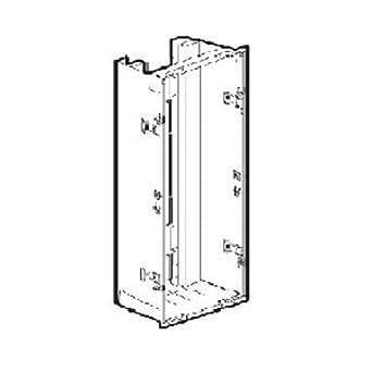 Legrand - Bac métal 1 travée Drivia 13 pour coffret 4 r+platine EDF+coffret com legrand-401263
