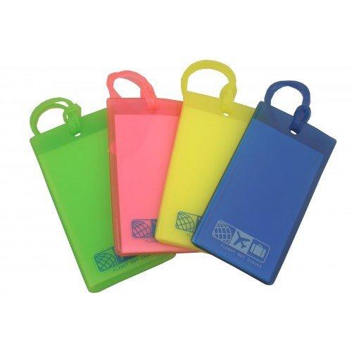 flight-001-etiqueta-para-equipaje-multicolor-multicolor-talla-nica