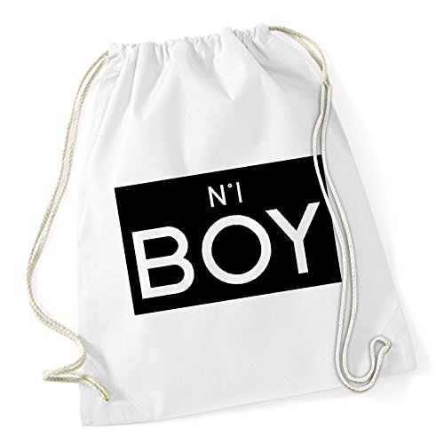 N°1 Boy Sac De Gym Blanc Certified Freak