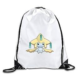 Good Gift - Special Pokemon Jirachi Sport Bag Gym Bag For Men & Women Sackpack