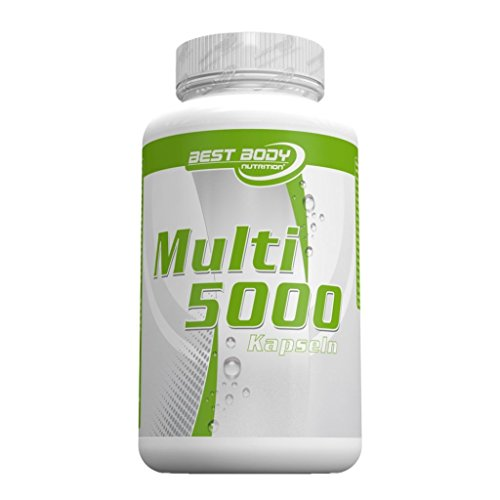 Best Body Nutrition Multivitamin 5000, 100 Kapseln Dose (3er Pack)
