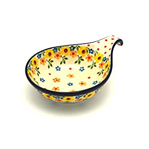 Polish Pottery Spoon/Ladle Rest – Buttercup