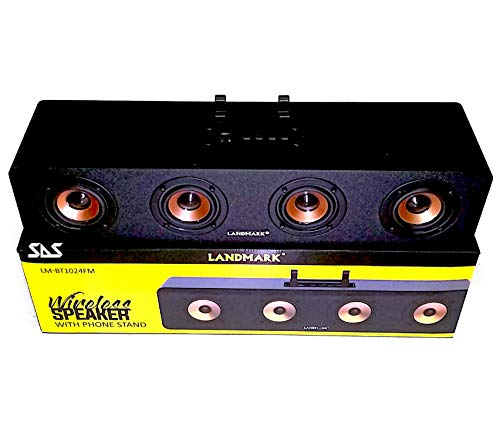 SAS LANDMARK Portable Wireless SOUNDBAR for LED TV, Mobile, LAPTOPS, Computers Bass Enhanced