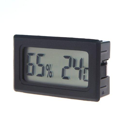 KKmoon Mini Digital LCD Termómetro Higrómetro de Humedad Medidor de Temperatura Interior Termómetro...
