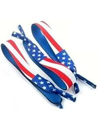 3 PC Eyewear Sport Retainer Safety Strap Holder AMERICAN FLAG,One Size