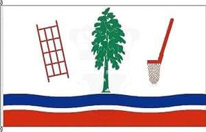Königsbanner Autoflagge Krempermoor - 30 x 45cm - Flagge und Fahne