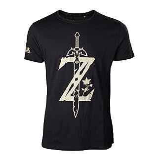Zelda Breath of the Wild T-Shirt -2XL- Z mit Schwert