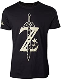 The Legend of Zelda Breath of the Wild T-Shirt Z Sword Size M Bioworld 5361874c747