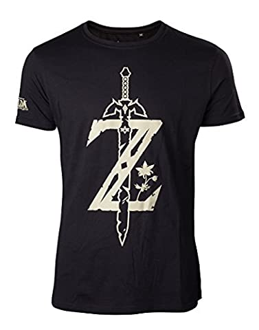 Zelda Breath of the Wild T-Shirt -M- Z mit Schwert
