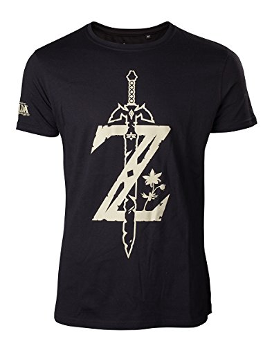 Zelda Breath of the Wild T-Shirt Z mit Schwert -S-  Edizione e8f1a378751