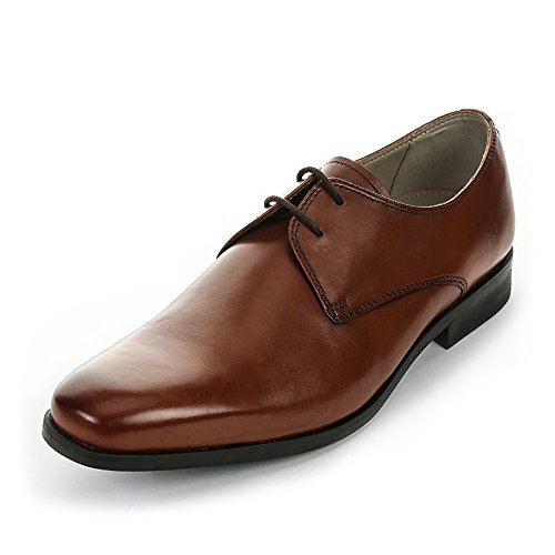 Clarks Amieson Walk, Derby homme, Marron (Tan), 43 EU