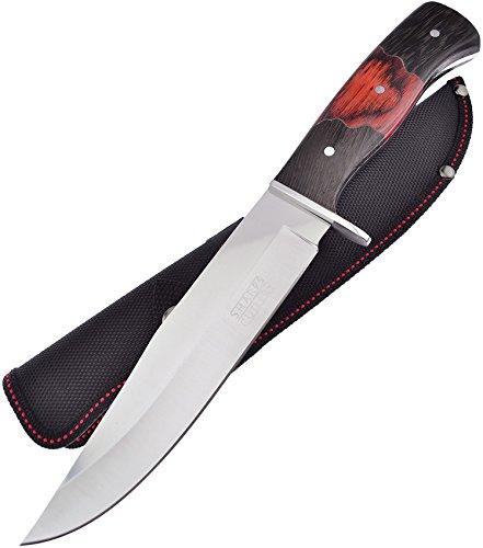 Frost Cutlery FSHP012 Couteau Poignard de Chasse Mixte Adulte, Noir