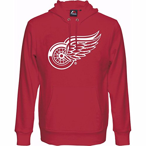 NHL Kinder Youth Hoody DETROIT RED WINGS rot Kaputzenpullover Hooded Sweater (13-15) XL (Nhl Detroit Red Wings)