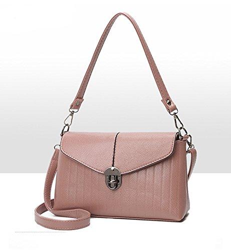 Swall owuk Donna Moda Borsa a tracolla pacchetto Messenger Bags grigio grau rosa
