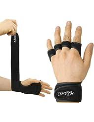 BeSmart Gants de musculation en néoprène avec bandage de soutien pour poignet
