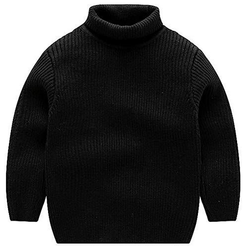 ARAUS Baby Pullover Jungen Strickjacke Dich Hochkragen Wolle Seide Baumwolle Mädchen Wolljacke Unisex 1-7 Jahre alt -