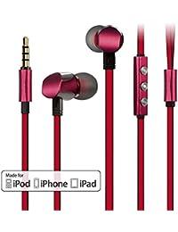 In-Ear Auriculares Estéreos GGMM Cuco In-Ear Auriculares de Conductores Duales, Certificación de Apple MFI, Cubierta Completa de…
