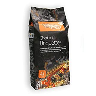 Bar-be-Quick Charcoal Briquettes 10kg Ideal for Smokers and Pit Barrels