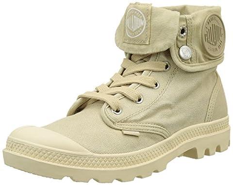 Palladium Baggy, Hohe Sneakers Femme, Beige (Sahara/Ecru), 42 EU