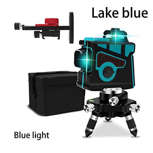es/Rotes Licht Laser Level 12 Linie Befestigung Instrument Level Hohe Präzision Flachblendung Bodenfliese Nivellierung Instrument Bodenlinie Intelligente Fernbedienung ()