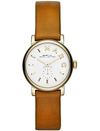 Marc Jacobs MBM1317 - Reloj para mujeres, correa de cuero color marrón